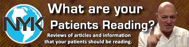 What are your patients reading - Bobby Braile at Now You Know