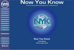 NYK Manual